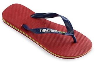 Havaianas Little Boy's & Boy's Brasil Logo Flip Flops