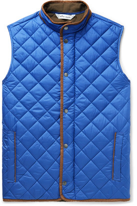 Peter Millar Essex Microfibre-Trimmed Quilted Shell Gilet