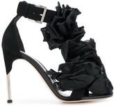 Alexander McQueen embellished 100mm sandals