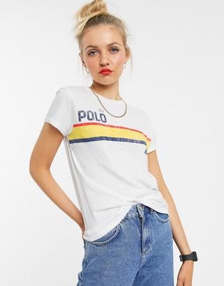 Polo Ralph Lauren t-shirt with uneven logo