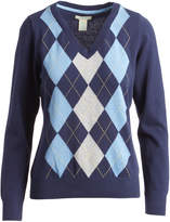 Caribbean Joe Peacoat Argyle Sweater