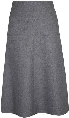 Stella McCartney Wool Felt Coating Skirt