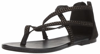 LFL by Lust for Life Women's LL-Palma Flat Sandal Black 8 M US