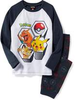 Old Navy Pokémon Graphic Sleep Set for Boys