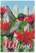 Trademark Fine Art Cindy Fornataro 'Ruby Red Garden' Canvas Art