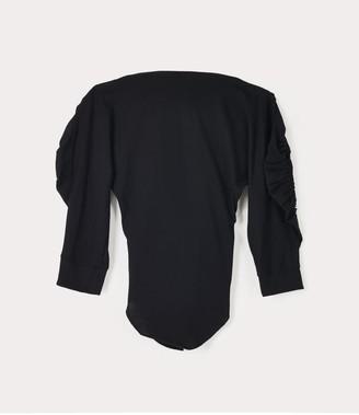Vivienne Westwood Cocoon Jersey Top Black