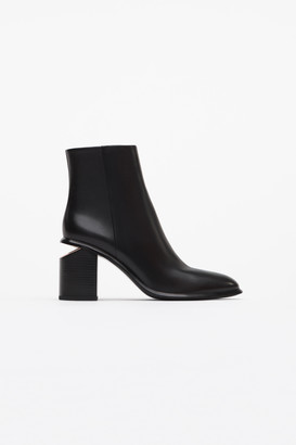 Alexander Wang Anna Bootie With Rose Gold