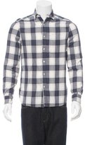 Shipley & Halmos Plaid Button-Up Shirt