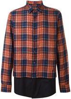 Raf Simons checked shirt - men - Cotton - 50
