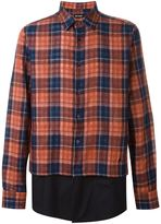 Raf Simons checked shirt