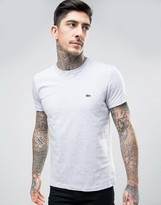 Lacoste Small Logo T-Shirt Regular Fit in Gray