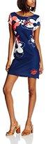 Desigual Women's Knitted Dress Short Sleeve 19