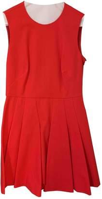 RED Valentino Orange Cotton Dress for Women