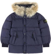 Stone Island Down and feather coat