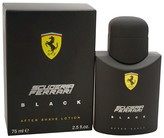 Ferrari Black by for Men - After Shave - 2.5 oz