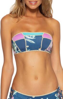 Becca Costa Rica Bandeau Bikini Top