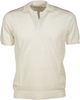 Paolo Pecora Perforated Polo Shirt
