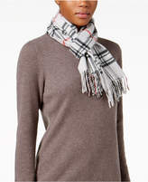 Charter Club Signature Plaid Cashmere Scarf, Created for Macy's