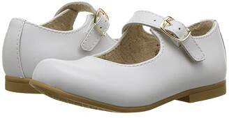 FootMates Laura (Toddler/Little Kid) (White) Girls Shoes