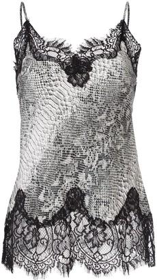 Gold Hawk Python Print Camisole Vest