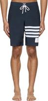 Thom Browne Navy Board Shorts
