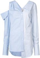 Monse - panel oversized shirt - women - Cotton - 0