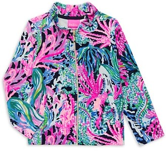 Lilly Pulitzer Little Girl's & Girl's Jayla Print Zip-Up Jacket