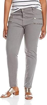 James Jeans Women's Plus-Size Leggy Curvy Crux Double Front Zip Legging Jean