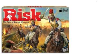 Hasbro Risk Board Game - The Game Of Strategic