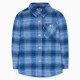 Levi's Little Boys (4-7x) Long Sleeve Woven One-Pocket Shirt