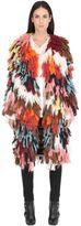 Chloé Wool & Silk Blend Knit Coat