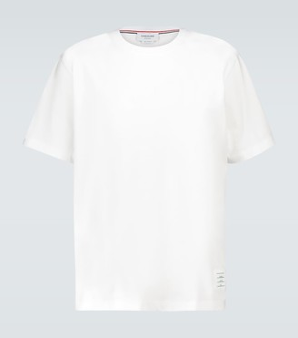 Thom Browne Relaxed-fit short-sleeved T-shirt
