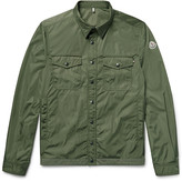 Moncler - Triomphe Cotton-trimmed Nylon Shirt Jacket