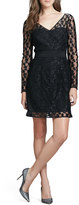 Milly Long-Sleeve Lace Dress