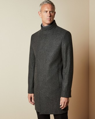 Ted Baker MARGATT Tall funnel neck coat