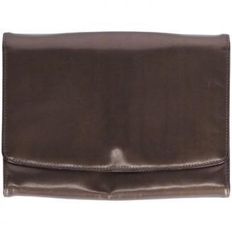 Salvatore Ferragamo Metallic Leather Clutch bags