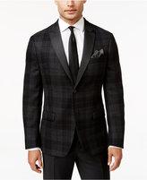 Lauren Ralph Lauren Men's Classic-Fit Black Tartan Evening Sport Coat