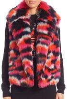 McQ by Alexander McQueen Faux Fur Gilet