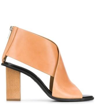 Christian Wijnants Cross-Strap Sandals