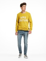 Scotch & Soda Toweled Logo Sweater