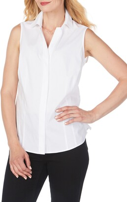 Foxcroft Taylor Non-Iron Sleeveless Shirt