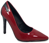C Label Cherry Red Ariza Pump