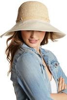 Helen Kaminski Kuya Raffia Canvas Sun Hat