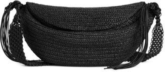 Arket Straw Crossbody Bag