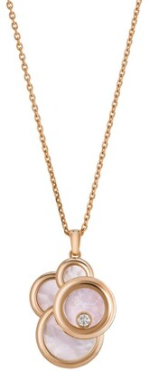 Chopard Rose Gold and Diamond Happy Dreams Pendant Necklace