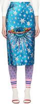 Gucci Blue Starry Sky Ufo Skirt