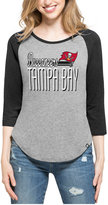 '47 Women's Tampa Bay Buccaneers Club Block Raglan T-Shirt