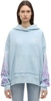 Amiri Printed & Embroidered Jersey Hoodie
