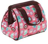 Fit & Fresh Kids Riley Insulated Lunch Bag in Rainbow Owl