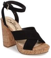 Callisto Women's Windye Platform Ankle Strap Sandal